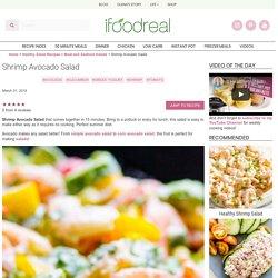 Shrimp Avocado Salad - iFOODreal - Healthy Family Recipes