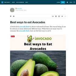 Best ways to Buy Imported Avocado Online