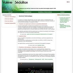 Avocat Droit de l'Informatique Paris