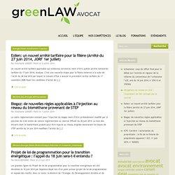 Avocat en Droit des Energies Renouvelables (ENR)