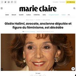 Gisèle Halimi, avocate, ancienne députée et figure du féminisme, est décédée...