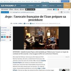 Cinéma : Argo : l'avocate française de l'Iran prépare sa procédure