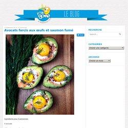 Avocats farcis aux œufs et saumon fumé