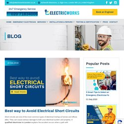Best Tips for You to Avoid Electrical Short Circuits