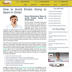 How to Avoid Emails Going to Spam in Gmail