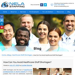 How Can You Avoid Healthcare Staff Shortages?