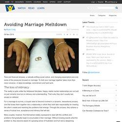 Avoiding Marriage Meltdown - HopeChannel
