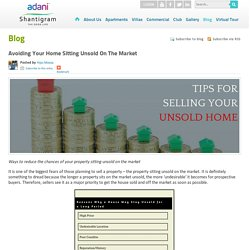 Avoiding Your Home Sitting Unsold On The Market