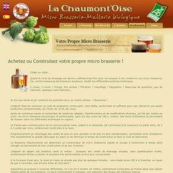 Construire sa pico-brasserie - La Chaumont'Oise