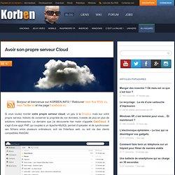 Avoir son propre serveur de Cloud