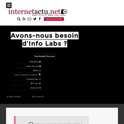 Avons-nous besoin d'Info Labs
