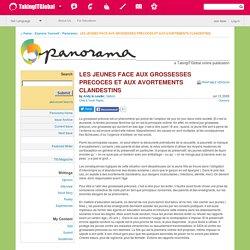LES JEUNES FACE AUX GROSSESSES PRECOCES ET AUX AVORTEMENTS CLANDESTINS - Panorama - TakingITGlobal