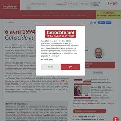 6 avril 1994 - Génocide au Rwanda - Herodote.net