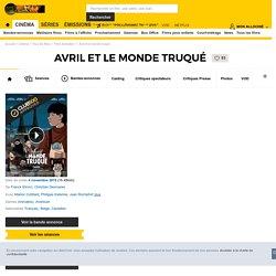 Avril et le monde truqué - film 2015