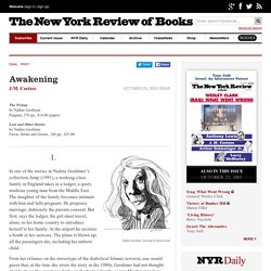 Awakening by J.M. Coetzee