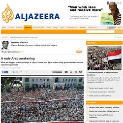 A rude Arab awakening