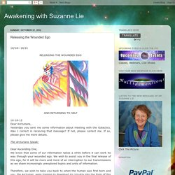 Awakening with Suzanne Lie: Releasing the Wounded Ego