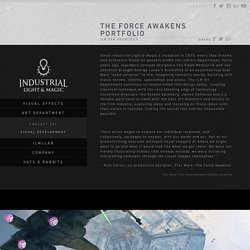 The Force Awakens Portfolio