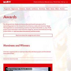 Awards - MAB14