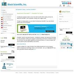 Awareness ChemWell T - Chemistry Analyzer for Lease