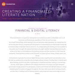 Awareness Programme for Digital and Financial Literacy in India