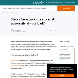 Causes of stress in university students: