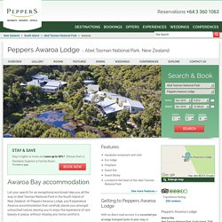 Awaroa Bay Accommodation