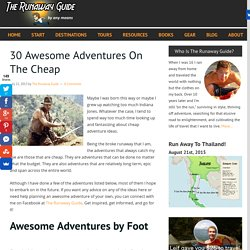 30 Awesome Adventures On The Cheap