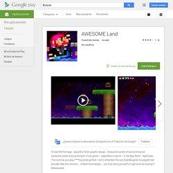 AWESOME Land - Aplicaciones de Android en Google Play