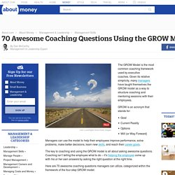 70 Awesome Coaching Questions Using the GROW Model