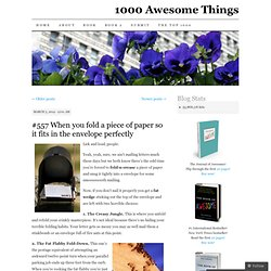 1000 Awesome Things | A time-ticking countdown of 1000 awesome things by Neil Pasricha | Page 4