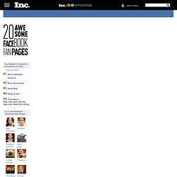 20 Awesome Facebook Fan Pages