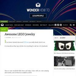 Awesome LEGO Jewelry « LegoPeople