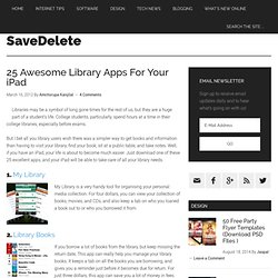 25 Awesome Library Apps For Your iPad