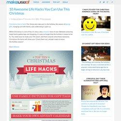 10 Awesome Life Hacks You Can Use This Christmas