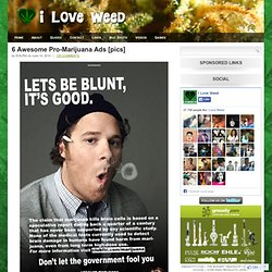 6 Awesome Pro-Marijuana Ads [pics]