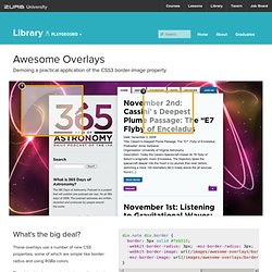 Awesome Overlays with CSS3's Border-Image Property - ZURB Playground - ZURB.com
