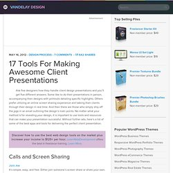 17 Tools For Making Awesome Client Presentations
