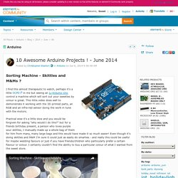 10 Awesome Arduino Projects ! - June 2014