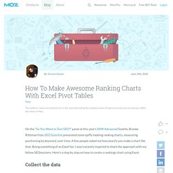 How To Make Awesome Ranking Charts With Excel Pivot Tables