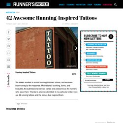 42 Awesome Running-Inspired Tattoos