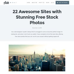 22 Awesome Sites with Stunning Free Stock Photos