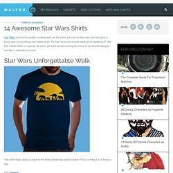 14 Awesome Star Wars Shirts