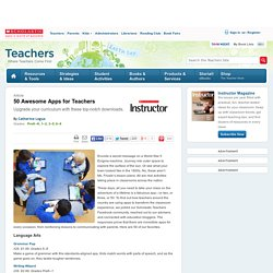 50 Awesome Apps for Teachers