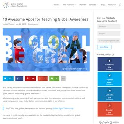 10 Awesome Apps for Teaching Global Awareness