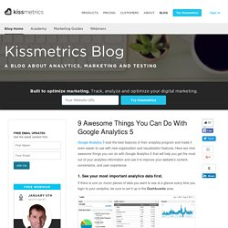 9 Awesome Things You Can Do With Google Analytics 5