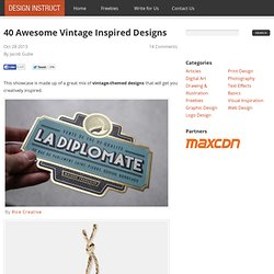 40 Awesome Vintage Inspired Designs - Design Instruct