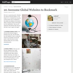 20 Awesome Global Websites to Bookmark