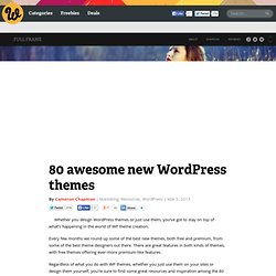 80 awesome new WordPress themes