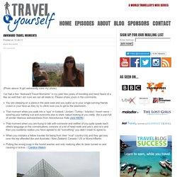 Awkward Travel Moments